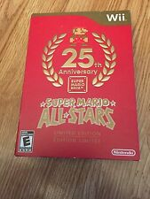 Super Mario All-Stars -- Limited Edition Nintendo Wii Complete Mint Disks W2