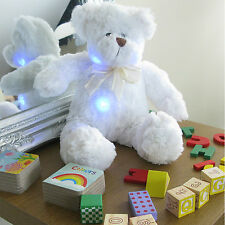 Light Up Blushing Teddy Bear - glow, plush, night light, colour change, cuddly t