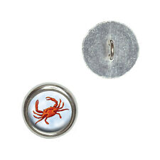 Crab - Metal Craft Sewing Novelty Buttons Set of 4