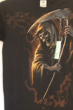 Grim Reaper Black Tshirt Size Small Scythe Sickle Halloween NEW!