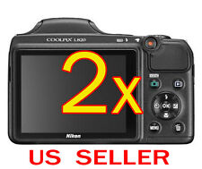 2x Nikon Coolpix L820 Camera LCD Screen Protector Cover Guard Shield Film
