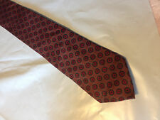 Mens Red Gray Tie Necktie LUCARELLI~ FREE US SHIP (9602)