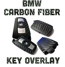 BMW Carbon Fiber Key Fob Overlay Vinyl Racing Performance Wrap Decal Sticker