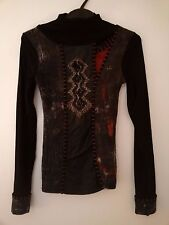 Stunning asymetric Save The Queen long-sleeved top - Size Medium