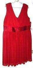 Sz 2X - NWT $79 Trixxi Red Grecian Style Party Dress Size 2X