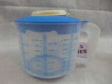 Tupperware Prep Essentials Mix N Stor Plus Measuring Pitcher 2 Qt/2L Blue New
