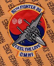 USAF Air Force 90th Fighter Squadron FS CMH! aviation patch