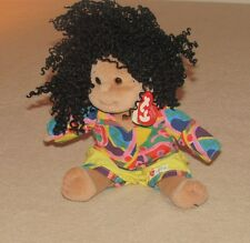 Ty Beanie Kids Calypso African American Girl Doll Plush New with tag FREE SHIP