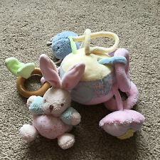 KALOO LILIBLUE ACTIVITY BALL LULLABY CRINKLE RATTLE SOFT TOY BUNNY RABBIT CUTE