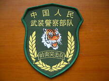 15's Guangdong Province China CAPF Special Forces LingNan Commando Unit Patch