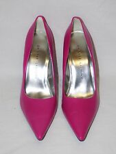 Sz 10 Chinese Laundry Hot Pink Women's Heels Pumps Stiletto New Leather