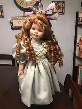 Antique Reproduction Porcelain Doll by Jamie Englert, Twilight