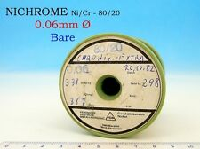 1x 345g SPOOL NICHROME NIKROTHAL 42AWG 0.06mm 366 Ω/m 111 Ω/ft Resistance WIRE