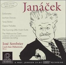 Jancek: Orchestral Works (CD, Oct-2004, 2 Discs, Reference Recordings)