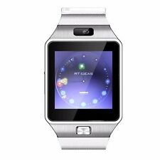 White W-09 1.54'' Screen Watch Phone Unlock Quad band GSM  Bluetooth cell Phone