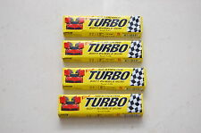 New Sealed 4 Packs with 5 gums each - 20 gums Turbo 2015 Gum Wrappers Stickers