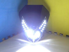 Universal 3000LM CREE LED Motorcycle Streetfighter Headlight Front Cowl Fairing