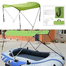 "43""H 31.5""W 65""L Anti UV Boat Canopy Bimini Top Cover For Inflatable Canoe Kayak"