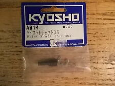 AB-14 OS Pilot Shaft - Kyosho Assault Stinger Blizzard Rampage Sandmaster RS200