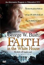 DVD George W. Bush: Faith in the White House President Prayer 9/11 White House