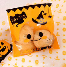 Halloween Party Decor Biscuit Candy Bags Trick Or Treat Hallowmas Gifts 10/Pcs