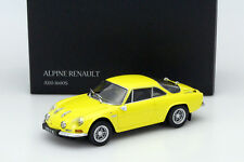 Kyosho Renault Alpine A110 1600S Yellow 1/18