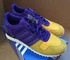 Adidas ZX700 SIZE 12 Yellow Purple NEW WITH BOX Trainers Lakers Kobe
