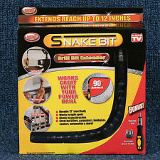 Snake Bit Flexible Power Drill Bit Extender Flexible Extension As Seen on TV