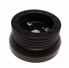 Steering Wheel Adapter 6 Hole Nardi 1969-1994 GM, Chevy, Buick, Olds, Jeep Black