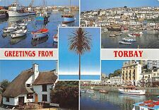 B101715 greetings from torbay ship bateaux   uk