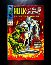 COMICS: Tales To Astonish #93 (1967), 1st Silver Surfer crossover - RARE (hulk)