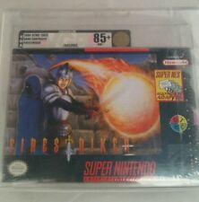 Firestriker: (Super Nintendo, SNES) NEW SEALED VGA 85+, GOLD!