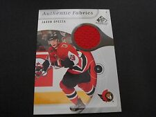 UPPER DECK NHL GAME USED JERSEY TRADING CARD - JASON SPEZZA - SENATORS