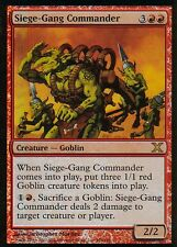 Siege-Gang Commander FOIL | ex | 10th | Magic MTG