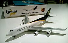 Gemini Jets GJUPS861A UPS United Parcel 1/400 Boeing 747-400 N570UP model