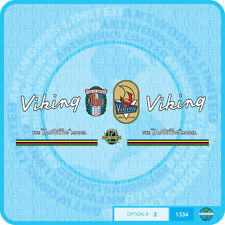 Viking - Hosteller Bicycle Decals Transfers - Stickers - Set 3