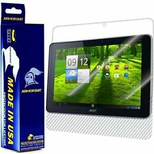 ArmorSuit MilitaryShield Acer Iconia Tab A700 Screen Protector + White Carbon