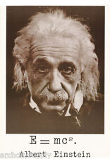 POSTER :FAMOUS PEOPLE : :ALBERT EINSTEIN - E = MC2  - FREE SHIP #1070  LC26 O