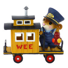 Wee Forest Folk M-453e Train Caboose