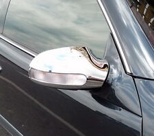 MERCEDES BENZ CLK CLASS 2 DOOR COUPE W208 C208 CHROME DOOR MIRROR TRIM 1997 - 02