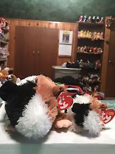 Deal: Ty PATCHES -Multicolored Guinea Pig Beanie Baby & Classic Plush Set! VHTF!