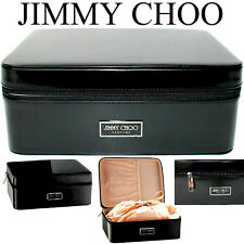 100%AUTHENTIC BEYOND RARE JIMMY CHOO MAKEUP~Beauty~JEWEL~STORAGE TRAVEL BAG CASE