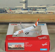 "Herpa Wings GOL ""New Color"" B737-800W (NG) 1/500"
