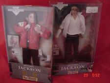 RARE MICHAEL JACKSON SINGING DOLL, W/ EXTRA BEAT  IT OUTFIT AND SONG, 1991, VGC