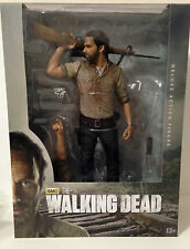 AMC The Walking Dead TV Rick Grimes 10 Inch Deluxe Action Figure Mc Farlane Toys