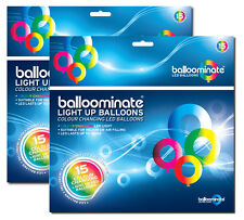 Cambio De Color - 30 Pack. color cambiante LED luz balloominate Globos