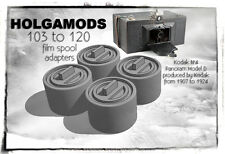 103 to 120 spool adapters for Antique and Vintage Kodak Cameras