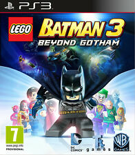 LEGO BATMAN 3 BEYOND GOTHAM GAME PS3 BRAND NEW SEALED OFFICIAL PAL