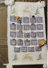 Knitting Pattern- Christmas Advent Calender patter In Double Knit- To Knit