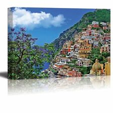 "Canvas Prints Wall Art - Travel in Italy Series - Positano- 24"" x 36"""